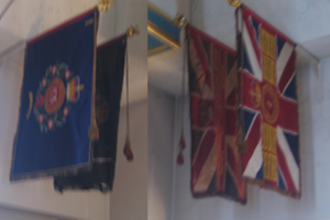 Colours of 14th (County of London) Battalion The London Regiment (London Scottish)