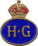The Home Guard badge